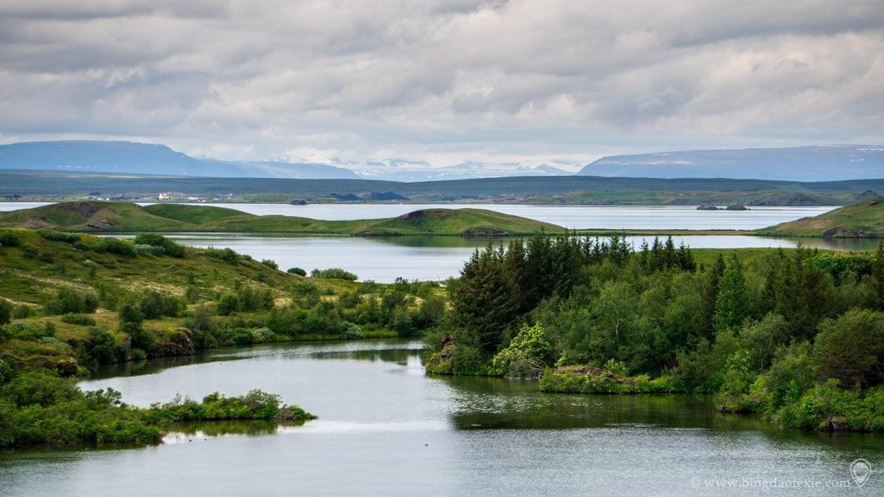Bingdaotexie.com 米湖 Lake Mývatn 冰岛