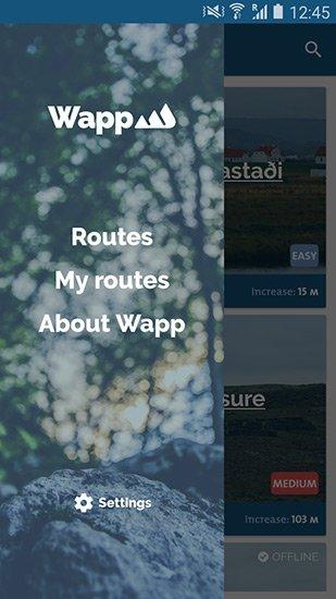Wapp walking app