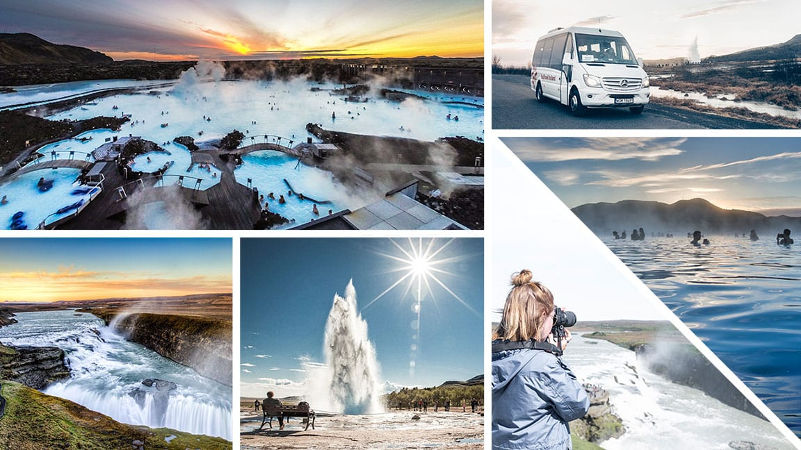 Small Group Golden Circle and Blue Lagoon Tour