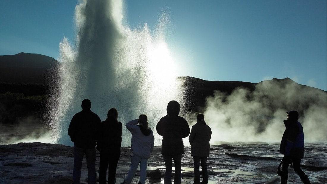 Geysir Geothermal Area Iceland