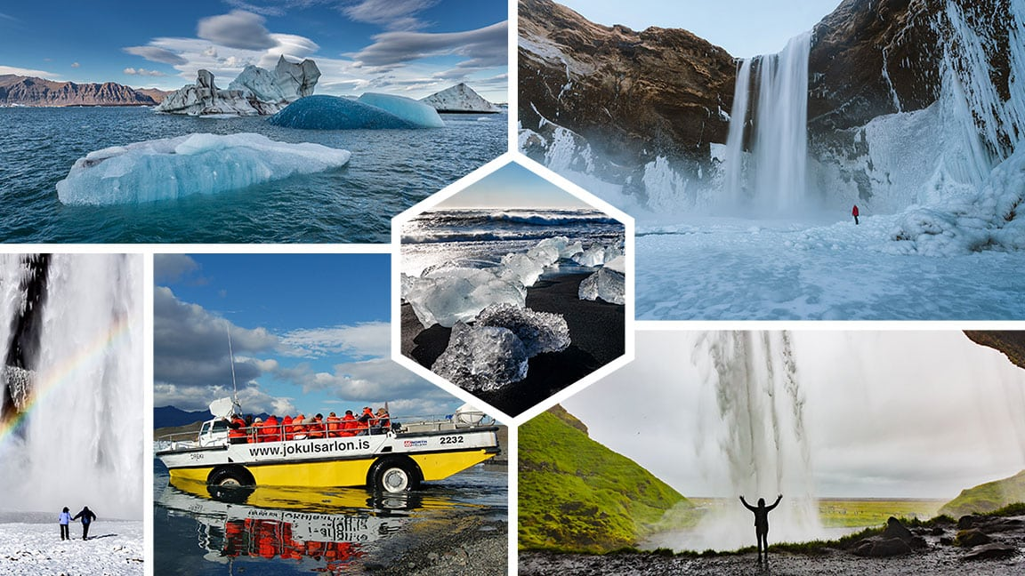 South Coast and Jokulsarlon Glacier Lagoon Tour